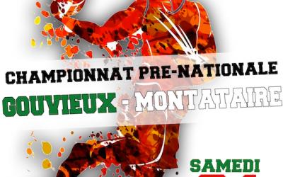 Séniors A : Réception de Montataire