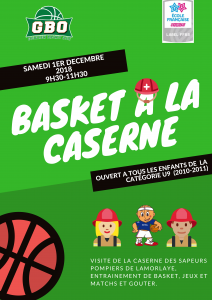 Basket à la caserne @ Caserne de Lamorlaye | Lamorlaye | Hauts-de-France | France